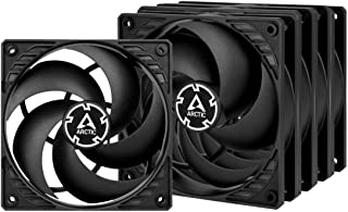 ARCTIC P12 PWM PST Value Pack - 120 mm Case Fan, Five Pack, PWM Sharing Technology (PST), Pressure-optimised, Very Quiet M...