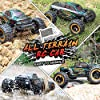 HAIBOXING 1:16 Scale RC Cars 16889, 36Km/h high Speed Hobby Remote Control Car with 2.4GHz Radio Controller, All Terrain Waterproof Off-Road RC Trucks with 2 Batteries for Kids and Adults #3