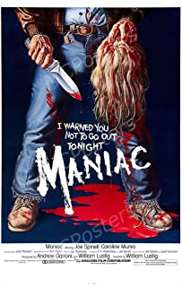 MCPosters - Maniac 1980 Glossy Finish Movie Poster - MCP847 (24