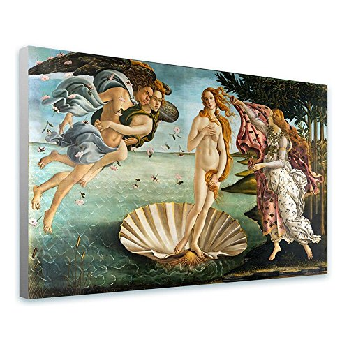 """Alonline Art - The Birth Of Venus by Sandro Botticelli 