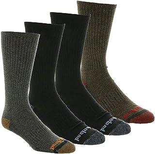 Timberland Men's 4-Pack Comfort Crew Socks