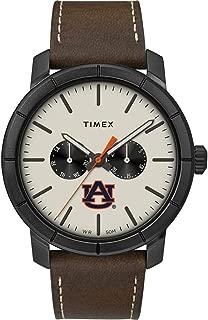 Timex Men's Auburn University Tigers Watch Home Team Leather Watch
