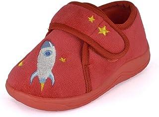 DINZIO Toddlers Kids Boys Girls Rocket Slipper