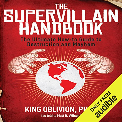 The Supervillain Handbook audiobook cover art