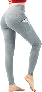 Women's High Waist Yoga Pants Leggings for Running Workout with Pockets