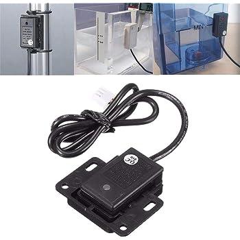 juman634 Tanque de detección de Sensor sin Contacto Sensor de Nivel de Agua líquida Contenedor del Interruptor Función de Memoria de líquido Inteligente LED Pantalla de Estado líquido