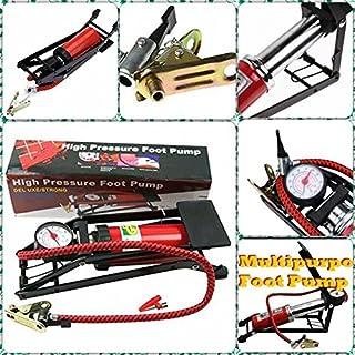 Supermall Air Pressure Foot Pump Air Pump For Bike, Car , Motorcycle ,Balls etc