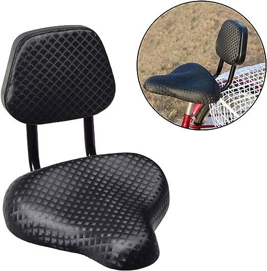 WZ YDTH Sella Bike Universale Extra Wide Comfy Ammortizzata Traspirante Seggiolino,Sedile a Sella per Bicicletta Comfort Gel Tricycle Bike con Supporto per Schienale