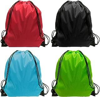 Drawstring Bag - 24 Pack Drawsting Backpack Bags Backpack Bulk Storage Bages for Gym Traveling Multicolor Drawstring Backpack 4 Color
