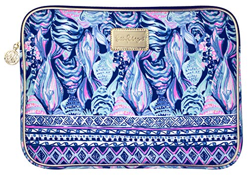 For Sale! Lilly Pulitzer Padded Tech Sleeve, Fits up to 13 inch Laptop, Scale Up