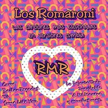 Las Canciones Mas Escuchadas en Versiones Cumbia