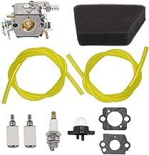 MOTOKU Carburetor Air Filter Carb Fuel Line Spark Plug Carb for Poulan Chainsaw 1950 2050 2150 2375 Wild Thing 2375LE Walbro WT 89 891 WT-324 Zama C1U-W8 C1U-W14 Replace# 545081885