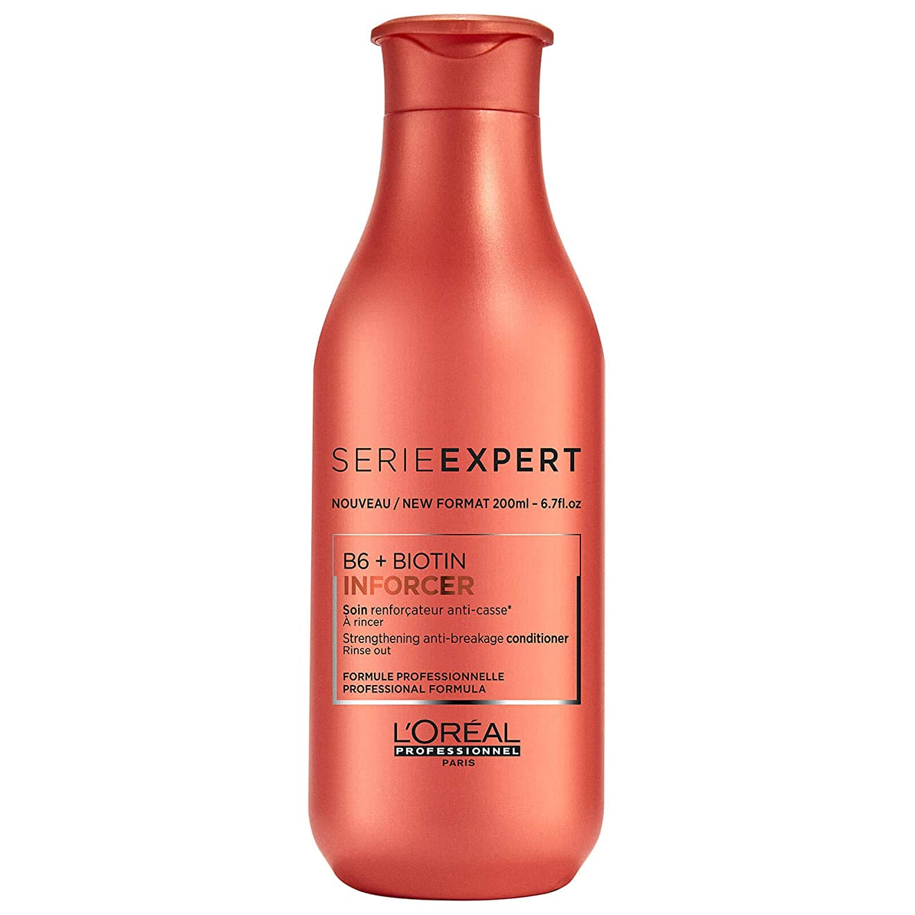 移植満員キルスロレアル Professionnel Serie Expert - Inforcer B6 + Biotin Strengthening Anti-Breakage Conditioner 200ml/6.7oz並行輸入品