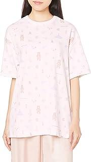[ジェラート ピケ] アニマルキャンプ柄Tシャツ PWCT214209 レディース
