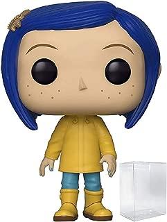 Funko Pop! Movies: Coraline - Coraline in Raincoat Vinyl Figure (Includes Pop Box Protector Case)