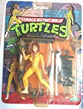 Teenage Mutant Ninja Turtles April O'Neil Original 1988 with Blue Stripe