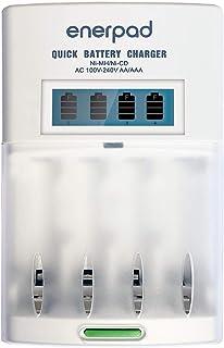 Carregador Rápido e Inteligente da Enerpad para 4 pilhas AA/AAA, modelo TG-2900