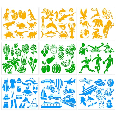 55% off Kids Stencils Set for Painting Use promo code: 55QXUUUJ