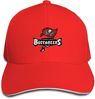 Tampa Bay Buccaneers Adjustable Hat, One Size Fits All,Black