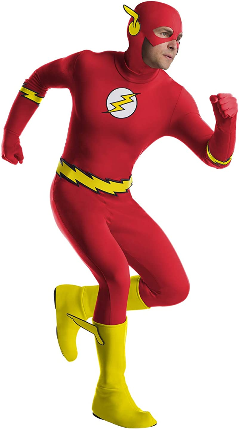 Charades DC Comics The Adult Flash Costume Al 5 popular sold out.