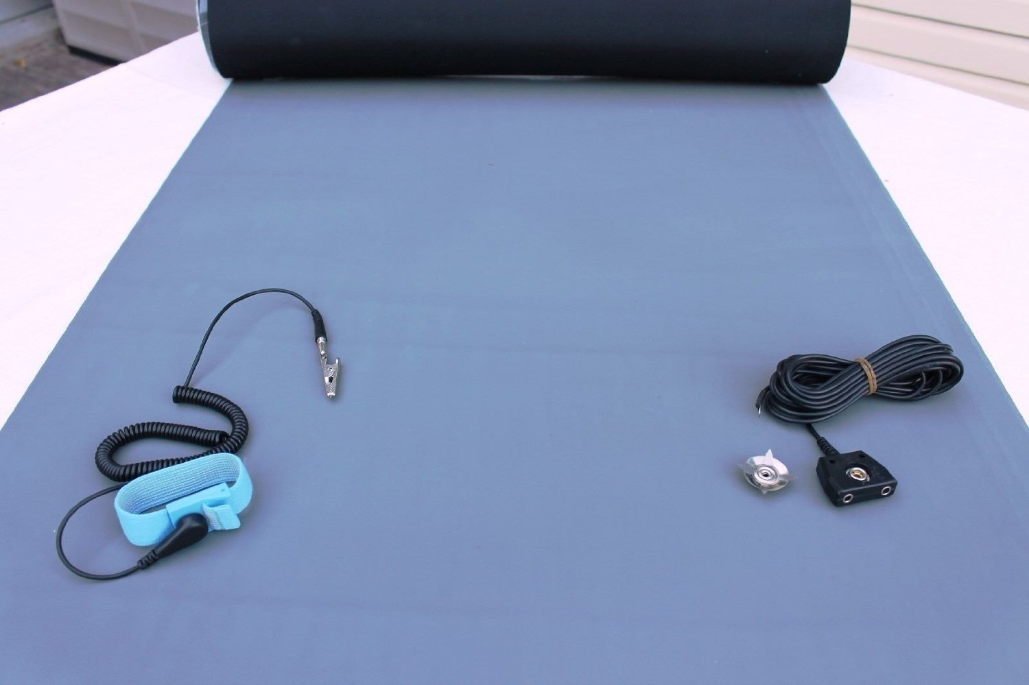 2 Layer Rubber ESD Anti Static Dual Hi-Temp with Kit gift Genuine Mat Common