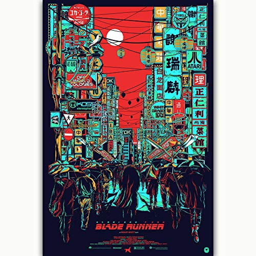 Blade Runner 2049 Harrison Ford Movie Poster - No Frame (24 x 36)