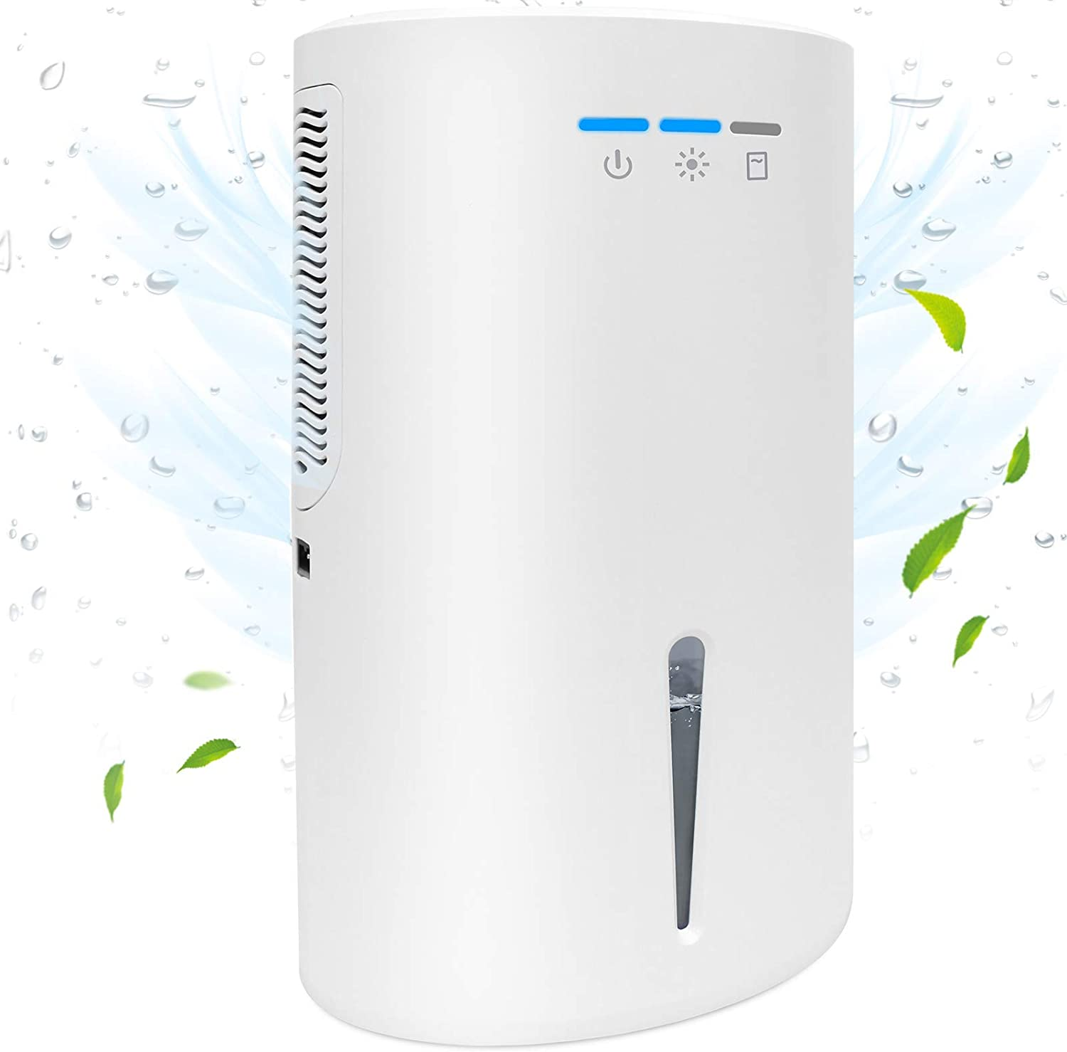 Letsport Dedication Upgraded 68oz Dehumidifier for Home Po Up Luxury Ft to Sq 480