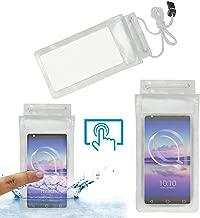 Acm Waterproof Bag Case Compatible with Alcatel U5 Hd Mobile (Rain,Dust,Snow & Water Resistant) Transparent