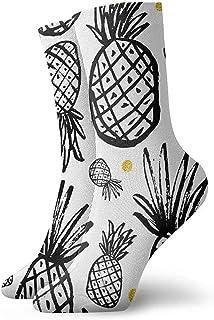 Kevin-Shop Calcetines Acolchados para niños y niñas, Calcetines Deportivos para Correr, Calcetines de compresión