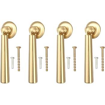 CHOOSE 2 Door//Cupboard//Drawer Handles Teardrop Brass Pull Cabinet 3 Designs