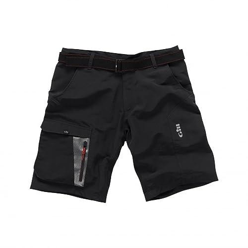 Bootsport Bekleidung Gill Pro Short Finger Segelhandschuhe 2018 Schwarz