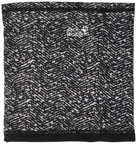Jack Wolfskin Melange Fleece Headgear Unisex-schlauchschal, Black All Over, ONE Size