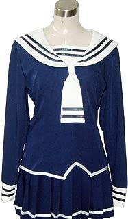 YuanCos Tohru Navy Summer Lolita Sailor Uniform Cosplay Costume