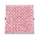 Weiye 81pcs Seife Rose Blume – Flora Duft Seife Rose Flower – Plant ätherisches Öl Seife,...