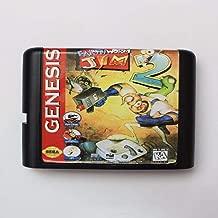 Earth Worm Jim 2 16 bit SEGA MD Game Card For Sega Mega Drive For Genesis ,Sega Genniess-Sega Ninento,16 bit MD Game Card