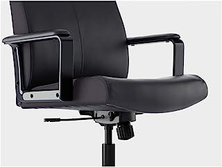 IKEA MILLBERGET Bomstad - Silla giratoria (65 cm), color negro