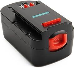 Creabest Reemplazo Batería de Ni-MH de 18V 3,0Ah para Black and Decker A1718 A18NH HPB18 HPB18-OPE A18 Firestorm A18 FS180BX FS18BX FS18FL FSB18 244760-00