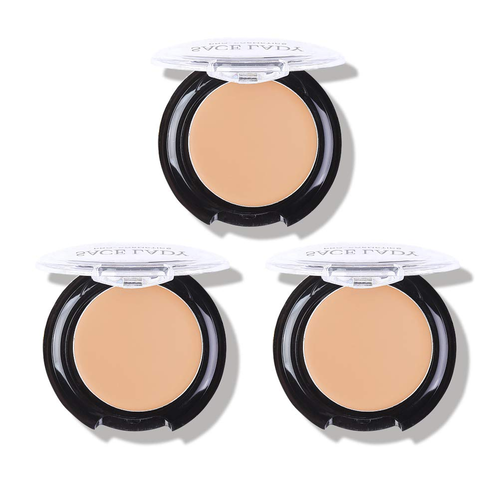 3 Excellent Pack Full Coverage Popular brand in the world Concealer Matte Makeup Cream Sm Waterproof