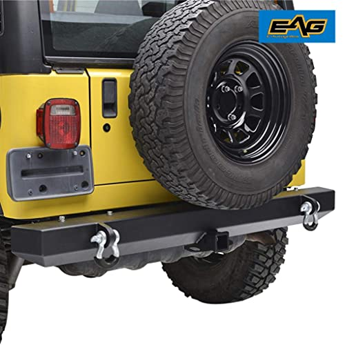 EAG Rear Bumper with 2