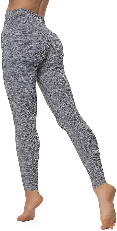 Christy Law Woman High Waist Power Flex Yoga Pants Running Workout Leggings Active Gym Wear