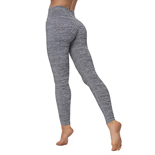 15ab96099592f0 Christy Law Woman High Waist Power Flex Yoga Pants Running Workout Leggings  Active Gym Wear