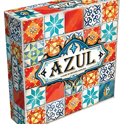 BDWN El Super Juego Juego de Mesa Azul Tiles para niños o niños Juegos de Cartas de Cubierta Juego de Cartas de Estrategia para Adultos y Adolescentes y Juego de Fiesta