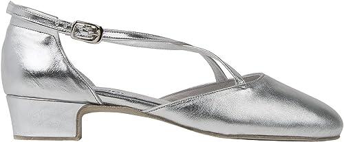 Chaussures de Danse Broadway Argent