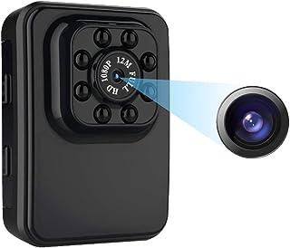 كاميرا التجسس المخفية الصغيرة بدقة 1080 بكسل من أليلجي مع الكشف عن الحركة / الرؤية الليلية لهواتف ايفون/أندرويد/آيباد/الكم...