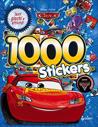 Cars 3. 1000 stickers. Con adesivi