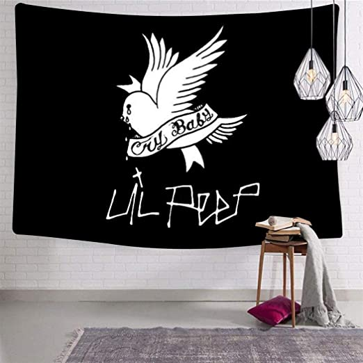 Wall Hanging Tapestry Waterproof 3D Backdrop Curtain Blanket Style 2