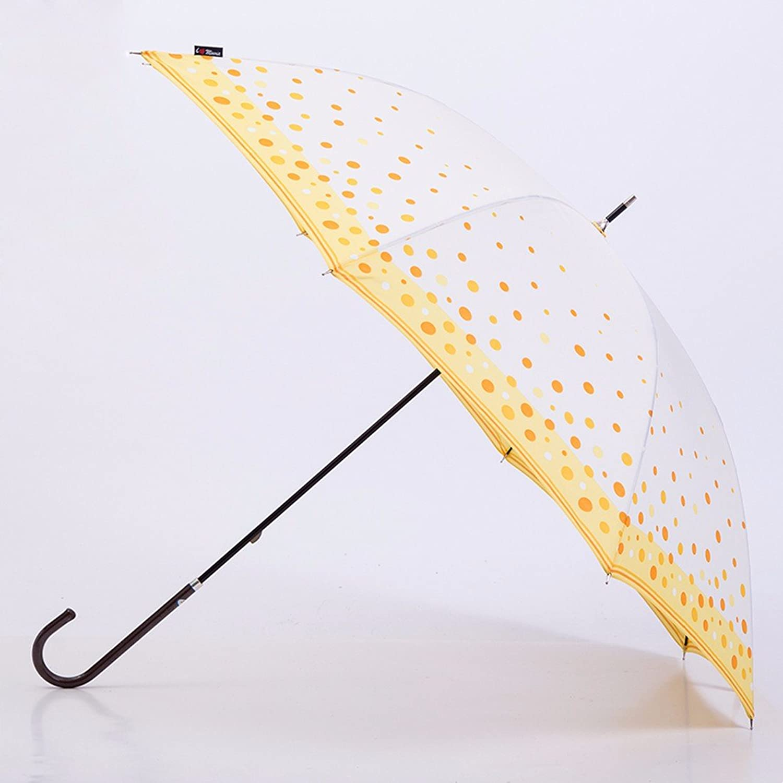 KHSKXSmall Fresh, Ultra Light Dots, Long Handle Umbrellas, Japanese Students, Creative Umbrellas, Double Sun Umbrella, Female Sun Umbrella