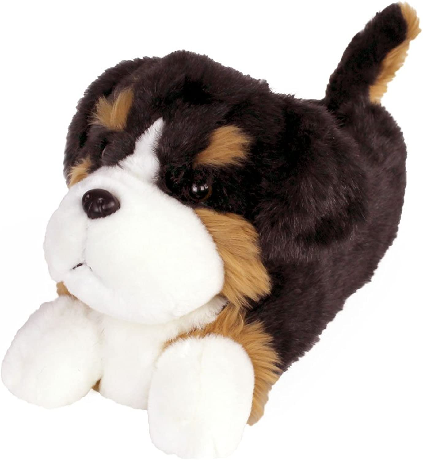 Bernese Mountain Dog Slippers - Plush Animal Slippers