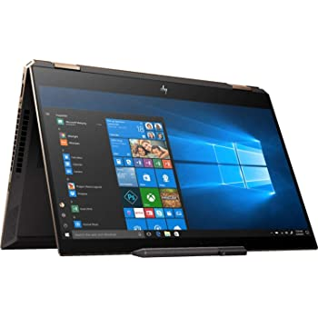 "2019 HP Spectre x360 15.6"" 4K Ultra HD Touchscreen 2-in-1 Laptop Computer: 10th Gen Intel Quad-Core i7 10510U up to 4.9GHz, 16GB DDR4 RAM, 512GB PCIe SSD + 32GB Optane, GeForce MX250 2GB, Windows 10"