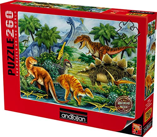Anatolian/Perre Group ANA.3288 - Puzzle - Dino Valley II, 260-Teilig